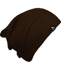gorro beanie action clothing dual basic marrom