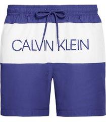 calvin klein heren zwembroek logo - blauw