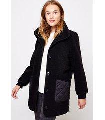 loft quilted coat