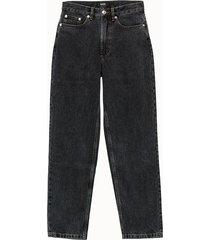 a.p.c. jeans cinque tasche in denim washed