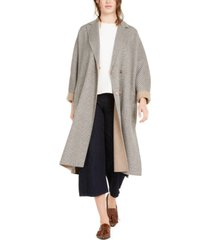 weekend max mara plaid belted wool-blend coat