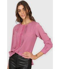 camisa rosa tarym