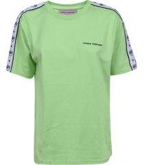 chiara ferragni logomania over t-shirt