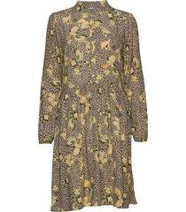 jennasz paisley woven dress animal korte jurk multi/patroon saint tropez