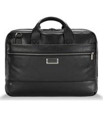 briggs & riley @work medium leather briefcase