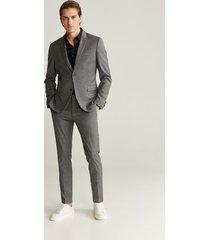 stretch katoenen super slim-fit tailored overhemd