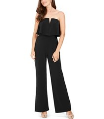 adrianna papell popover jumpsuit