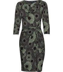 dress jurk knielengte groen ilse jacobsen