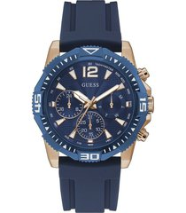 reloj guess commander gw0211g4 - azul