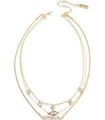 jessica simpson amour layered necklace