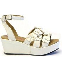 sandalia blanca ferli lolita 27