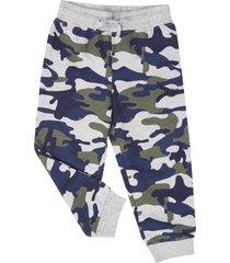 pantalon buzo basico militar print corona