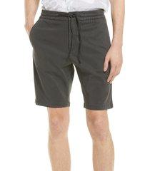 nn07 seb 1154 twill shorts, size 34 in dark grey at nordstrom