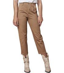 pantaloni chino modello crop