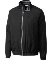 cutter & buck men's big and tall nine iron full zip jacket