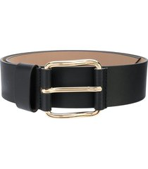 b-low the belt ivy wide powder belt - black