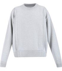 jacquemus loose fit sweater