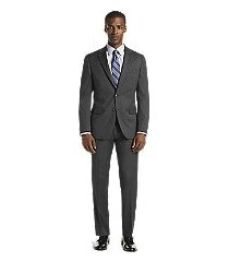 1905 collection slim fit tic weave oraganica® men's suit with brrr°® comfort - big & tall by jos. a. bank