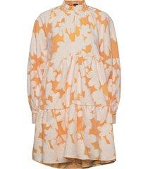 jasmine, 846 cotton jacquard korte jurk stine goya