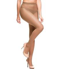 meia-calça aderente fio 15 feminina trifil