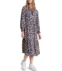 levi's danika floral-print dress