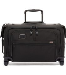 tumi alpha 3 garment 4 wheeled carry-on garment bag