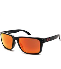 gafas negros-naranja oakley hombro