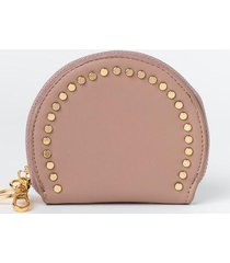 payton studded coin pouch - mauve