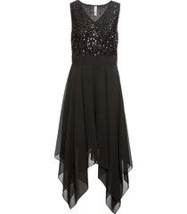 abito da sera con paillettes (nero) - bodyflirt boutique