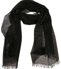brunello cucinelli classic fringed edge scarf