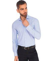 camisa business casual premium super stretch para hombre 91001