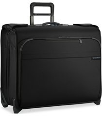 briggs & riley baseline deluxe 2-wheel garment bag