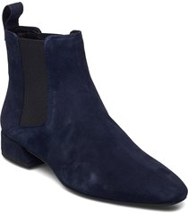 joyce shoes boots ankle boots ankle boot - heel blå vagabond