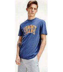 tommy hilfiger men's varsity logo t-shirt twilight navy - m
