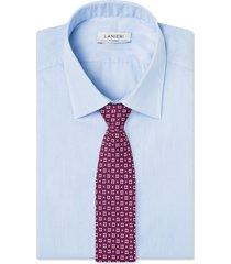 cravatta su misura, lanieri, firenze seta viola, quattro stagioni | lanieri