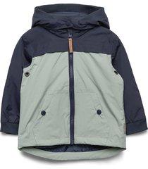 oskar - jacket outerwear shell clothing shell jacket multi/mönstrad hust & claire