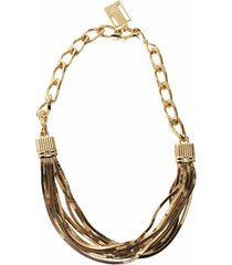 art deco short necklace