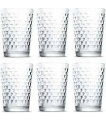 copos vidro nadir batuque conjunto com 6 unidades de 280 ml