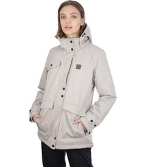 chaqueta impermeable 3m expedition gris claro falcone