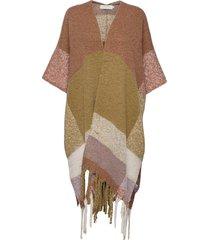 cramak cape poncho regnkläder multi/mönstrad cream