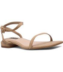 africa shoes summer shoes flat sandals beige mango