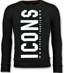 sweater local fanatic icons vertical grappige z