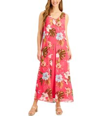 jm collection st barts sleeveless midi dress, created for macy's