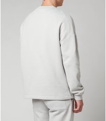 holzweiler men's flea crewneck sweatshirt - light grey - xl
