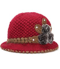 donne slouch baggy inverno caldo morbido knit crochet berretto berretto beret ski cap