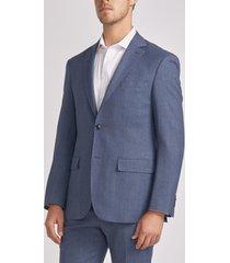 chaqueta casual azul trial