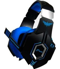 diadema j&r virtual stereo gaming 034-mv con bajos
