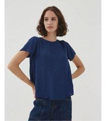blusa azul desiderata lumiere