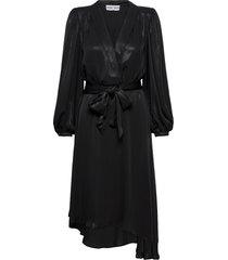 alexis dress dresses cocktail dresses svart ravn