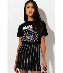 akira all about me zipper mini skirt